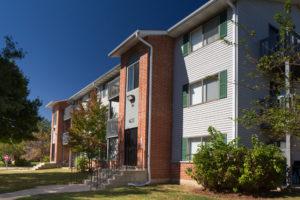 Exterior 790 building, sidewalk, grass