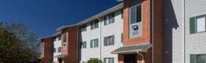exterior building 790, balconies